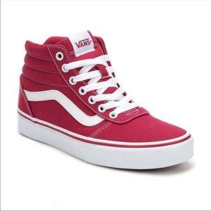 Vans Ward Hi Top Sneakers